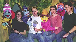 The Boston puppeteers for PINATTA