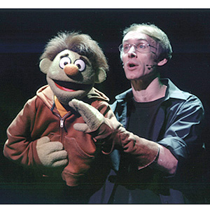 Rick Lyon and Nicky from AVENUE Q